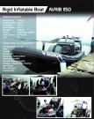 Rigid Inflatable Boat – AVRIB 1150