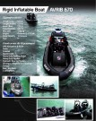 Rigid Inflatable Boat – AVRIB 670